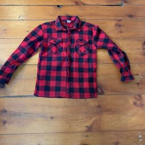 Men's Vintage Fleece Flannel